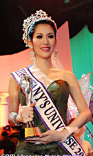 Miss Tiffany Universe's 2011